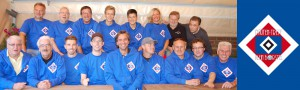 Der Rautentreff im Borsteler Treff. Offizieller HSV-Fan-Club