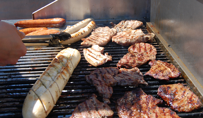 Grillparty am 25. Mai